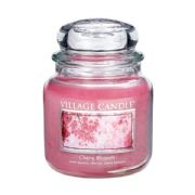 Village Candle Cherry Blossom 16oz Medium Candle Jar